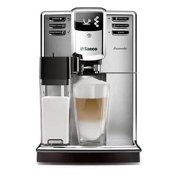 Espressor super-automat SAECO Incanto HD8917/09, 1.8l, 1850W, 15 bar, negru-argintiu