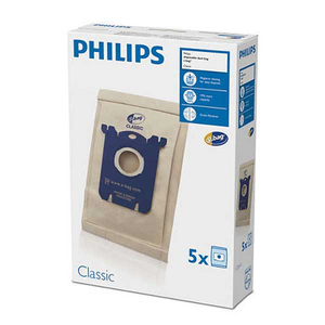 Set saci aspirator PHILIPS Calssic S-Bag FC8019/01, 5 buc