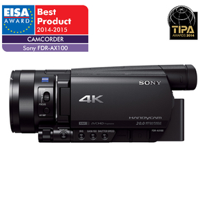 Camera video Handycam semi-profesionala 4K SONY FDR-AX100E, Negru