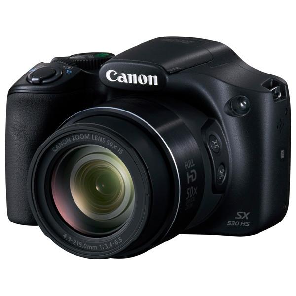 Camera foto digitala CANON PowerShot SX530, 16Mp, 50x, negru