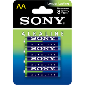 Baterii alcaline SONY AM3L-B4D, AA, 4 buc