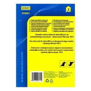 Microfiltru universal WORWO FKW01