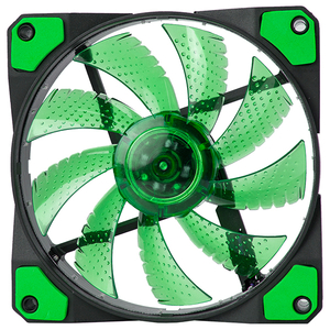 Ventilator MARVO FN-10 led verde, 120mm, 1200rpm