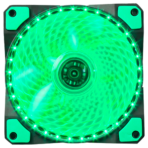 Ventilator MARVO FN-11 led verde, 120mm, 1200rpm