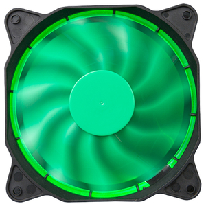 Ventilator MARVO FN-12 led verde, 120mm, 1200rpm