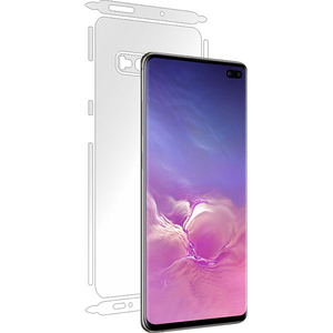 Folie protectie pentru Samsung Galaxy S10 Plus, SMART PROTECTION, spate si laterale, polimer, transparent