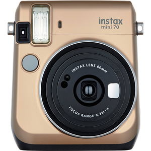 Camera Instax FUJI 70 Mini, gold