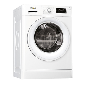 Masina de spalat rufe frontala WHIRLPOOL FWG71284WEU, 6th sense, 7kg, 1200rpm, A+++, alb