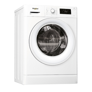 Masina de spalat rufe frontala WHIRLPOOL FWSG71253WEU, 6th sense, 7kg, 1200rpm, A+++, alb