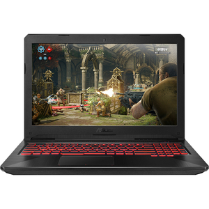 "Laptop Gaming ASUS FX504GM-E4187, Intel Core i5-8300H pana la 4.0GHz, 15.6"" Full HD, 8GB, HDD 1TB + SSD 128GB, NVIDIA GeForce GTX 1060 3GB, Free Dos"