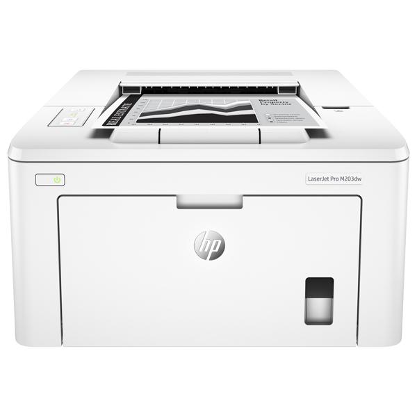 Imprimanta laser monocrom HP LaserJet Pro M203dw, A4, USB, Retea, Wi-Fi