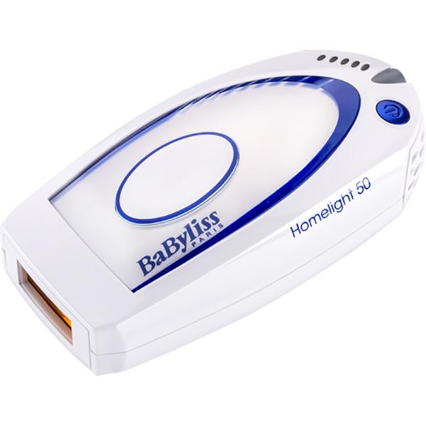 Epilator IPL BABYLISS Homelight 50 G932E, alb-albastru