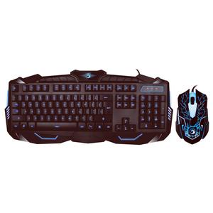 Kit Gaming MARVO KM400, tastatura si mouse, negru