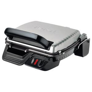 Gratar electric TEFAL Contact Grill Ultracompact GC3050, 2000W, argintiu