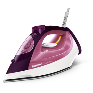 Fier de calcat PHILIPS SmoothCare GC3581/30, 2400W, 170g/min, 400ml, talpa SteamGlide, mov-alb