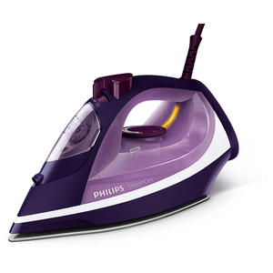 Fier de calcat PHILIPS SmoothCare GC3584/30, 2600W, 180g/min, 400ml, talpa SteamGlide, mov