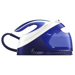 Statie de calcat PHILIPS PerfectCare Performer GC8731/20, 1.8l, 390g/min, 2600W, talpa SteamGlide Plus, alb - albastru
