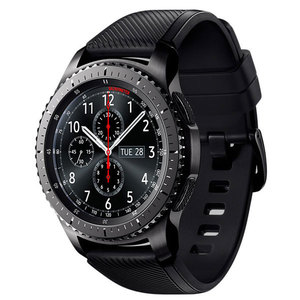Smartwatch SAMSUNG Gear S3 Frontier, Android, silicon, negru