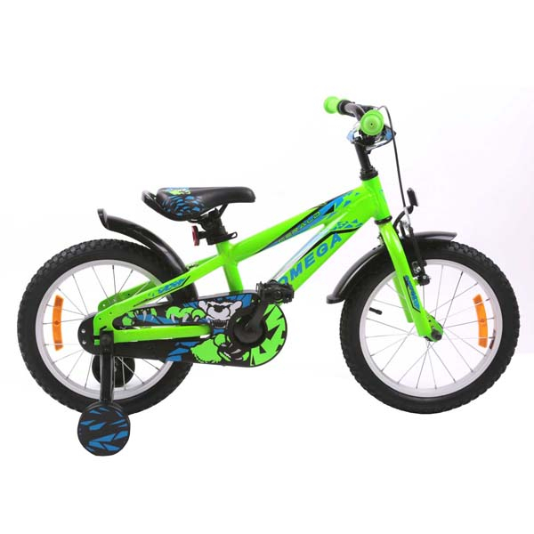 "Bicicleta copii Omega Gerald 2018, 20"", verde"