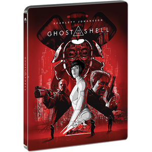 Ghost in the Shell Blu-ray 3D Steelbook