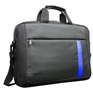 "Geanta laptop LENOVO T2050, 15.6"", textil, negru-albastru"