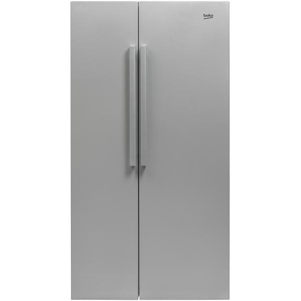 Side-by-Side BEKO GN163022S, 558 l, 182 cm,  A+, argintiu