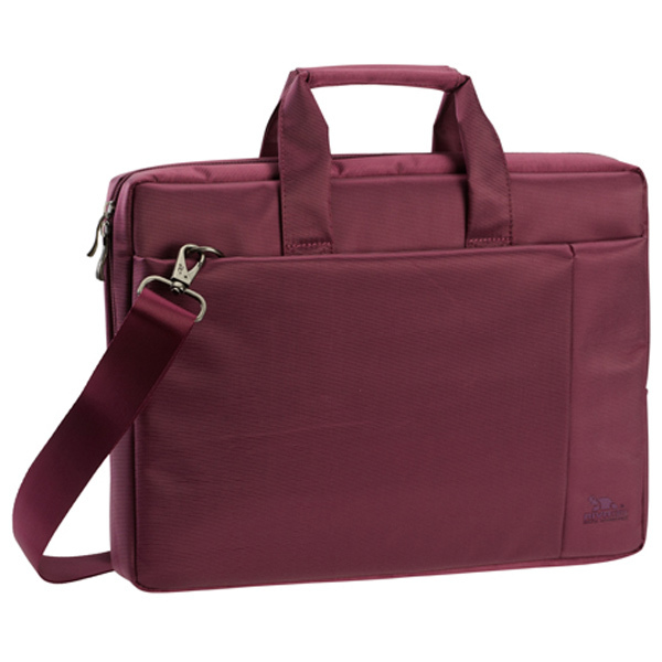 "Geanta laptop RIVACASE 8231, 15.6"", Poliester, mov"