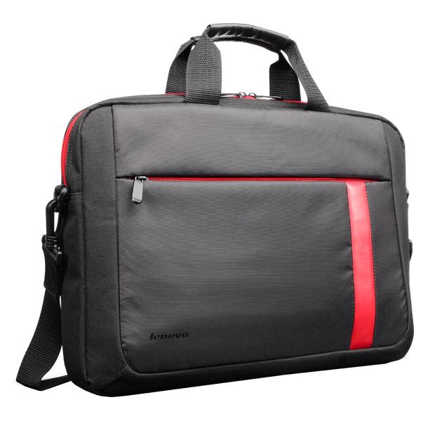 "Geanta laptop LENOVO T2050, 15.6"", textil, negru-rosu"