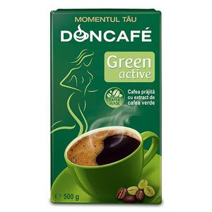Cafea macinata DONCAFE Green Active 303195, 500gr