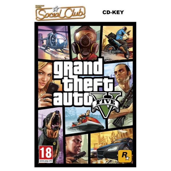 Grand Theft Auto V (GTA 5) - Download Code PC