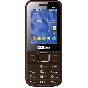 Telefon MAXCOM Classic MM141, 2G, Dual SIM, Brown