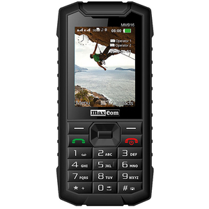 Telefon mobil MAXCOM Strong MM916, 3G, Dual SIM, Black