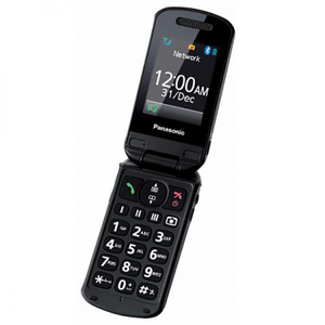 Telefon PANASONIC KX-TU329FXME, 2G, Single SIM, Black