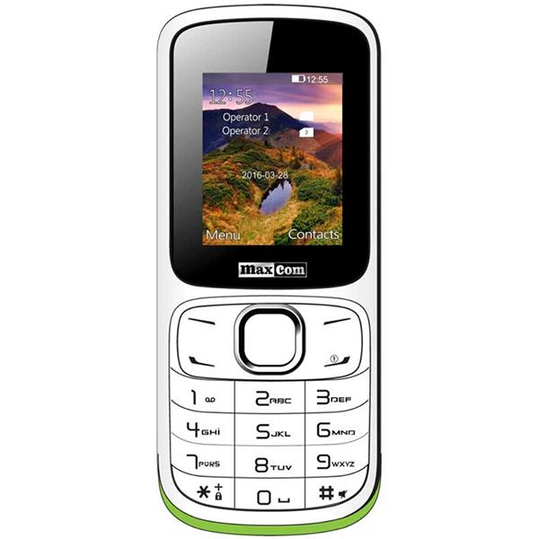 Telefon mobil MAXCOM Classic MM129, 2G, dual sim, White