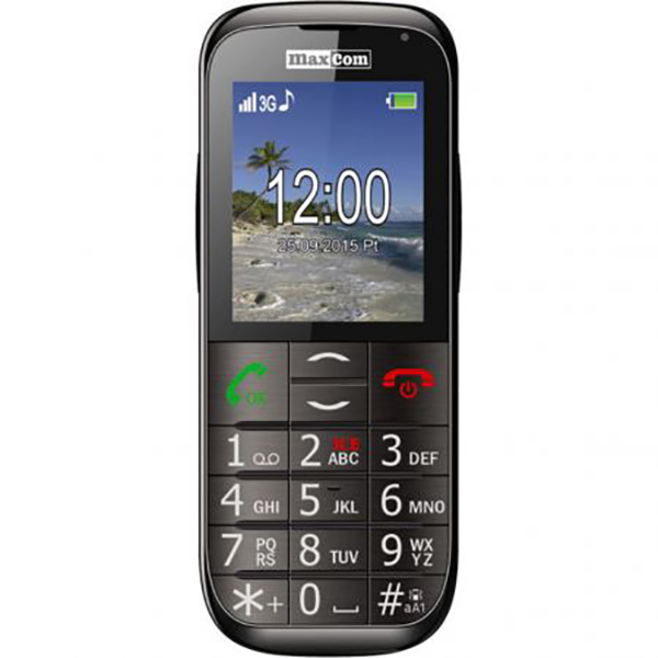 Telefon mobil MAXCOM Comfort MM721, 3G, Single SIM, Black