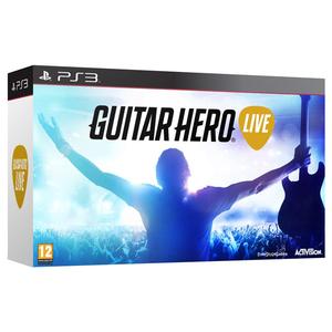 Guitar Hero Live Bundle (joc+chitara) PS3