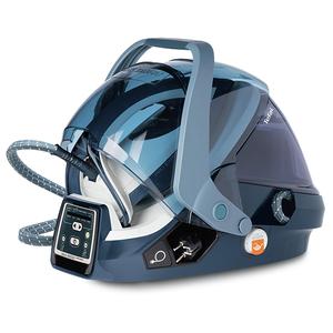 Statie de calcat TEFAL Pro Express X-pert Care GV9080, 1.6l, 500g/min, 2400W, talpa Autoclean, alb - albastru