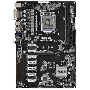 Placa de baza ASROCK H110 Pro BTC+, socket 1151, 2xDDR4, 4xSATA3, ATX