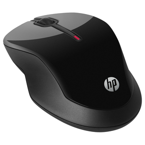 Mouse Wireless HP X3500, 1600 dpi, negru