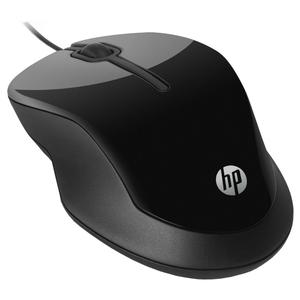 Mouse cu fir HP X1500, 1000 dpi, negru