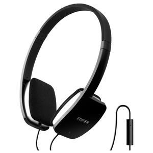 Casti audio cu microfon EDIFIER H640P, 3.5mm, negru