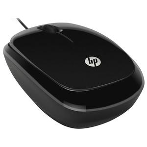 Mouse cu fir HP X1200, 1200 dpi, negru