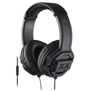 Casti JVC HA-MR60X-E, Cu Fir, On-Ear, Microfon, negru