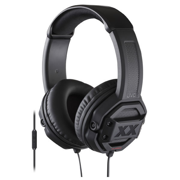 Casti JVC HA-MR60X-E, Cu Fir, On-Ear, Microfon, negru