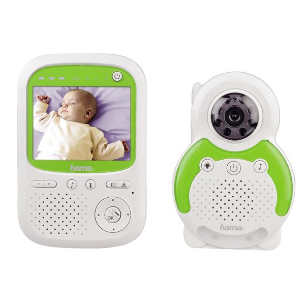 baby monitor hama bm150 300m alb verde