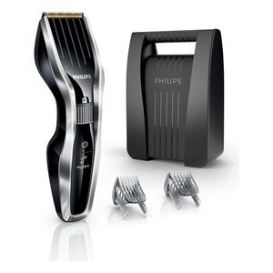 Aparat de tuns PHILIPS Hairclipper HC5450/80, acumulator, 90 min autonomie, 24 trepte, negru-argintiu