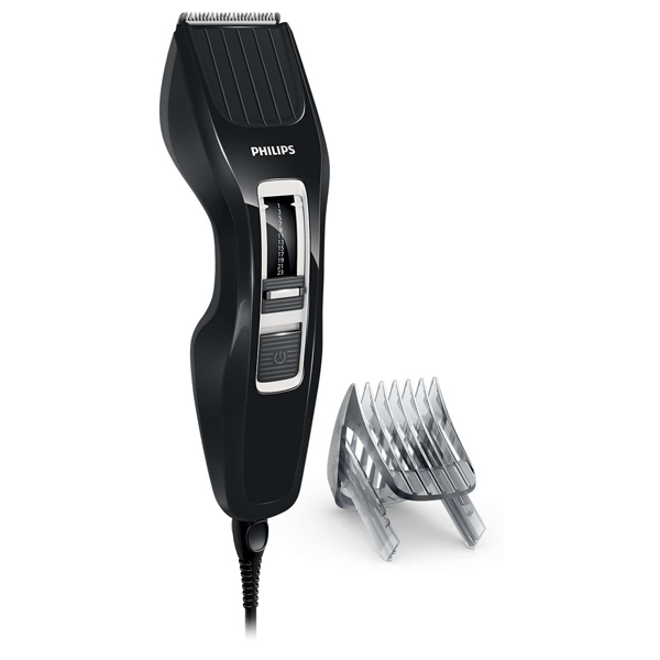 Aparat de tuns PHILIPS HairClipper HC3410/15, retea, 13 trepte, negru