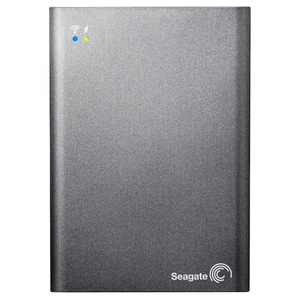 Hard Disk Drive SEAGATE Wireless Plus STCK1000200, 1TB, USB 3.0, gri