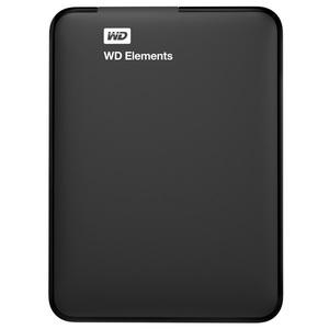 Hard Disk Drive WD Elements Portable WDBUZG7500ABK, 750GB, USB 3.0, negru