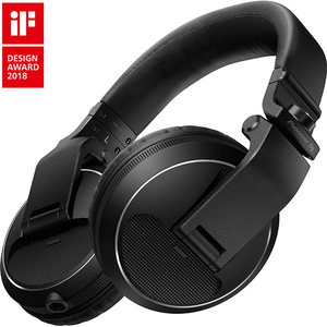 Casti PIONEER HDJ-X5-K, Cu Fir, On-Ear, negru
